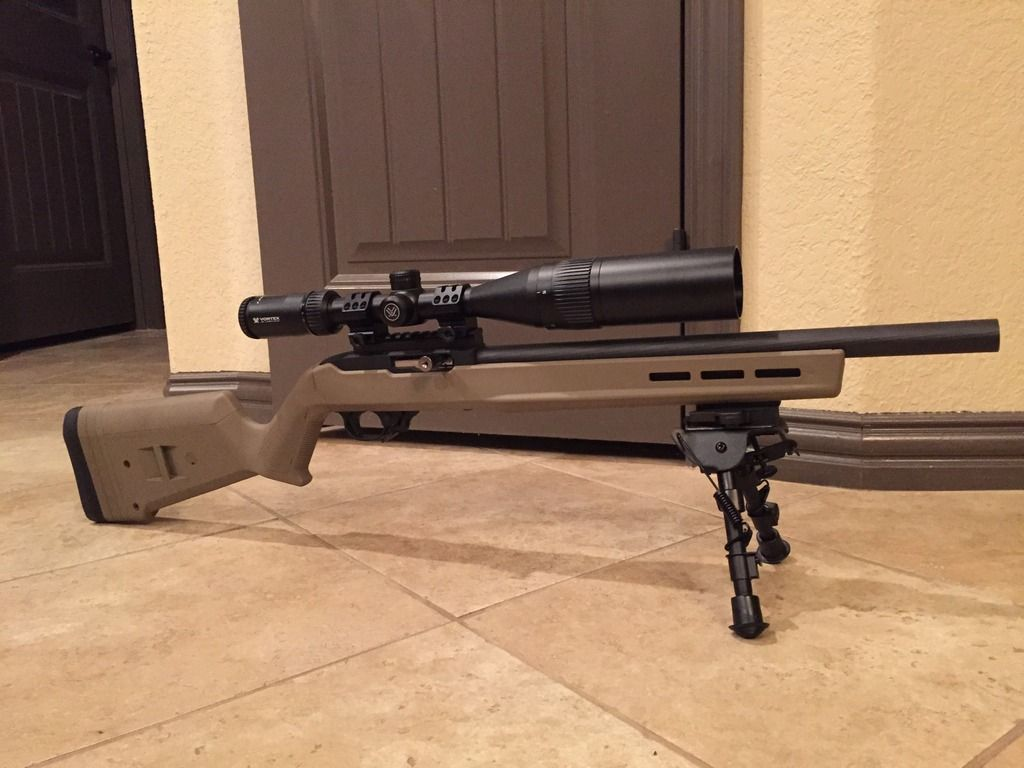 magpul x22 with 16 bull forums 10. Black Bedroom Furniture Sets. Home Design Ideas
