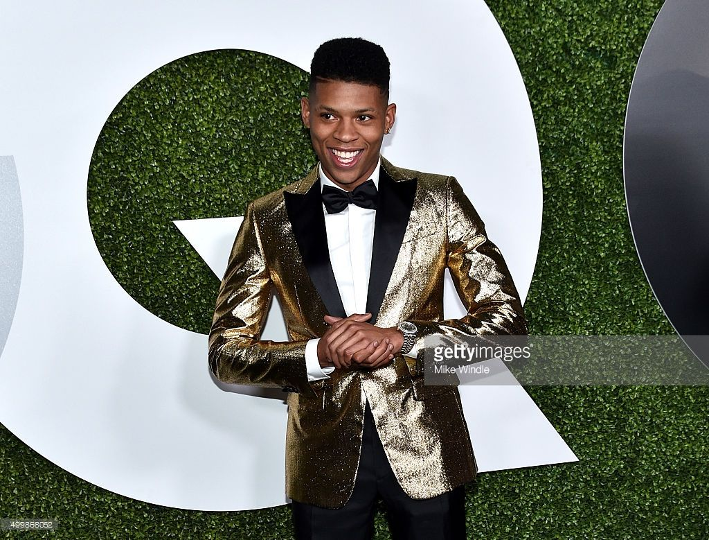 Actor bryshere y gray attends the gq 20th anniversary men