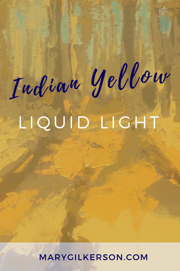 Indian Yellow Liquid Light is part of Painting, Painting techniques, Art, Acrylic painting tips, Art painting, Acrylic painting techniques - Indian Yellow, one of my favorite colors, is a strong dye color that can be used to mix incredible yellows and oranges  It's what I use to make the