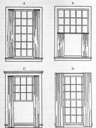 Double Hung Window Treatment Ideas Google Search