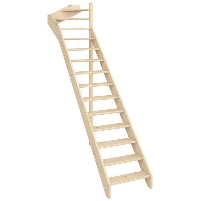Escalier Modulo Type D Escalier Escalier Droit Et Escalier Gain De Place