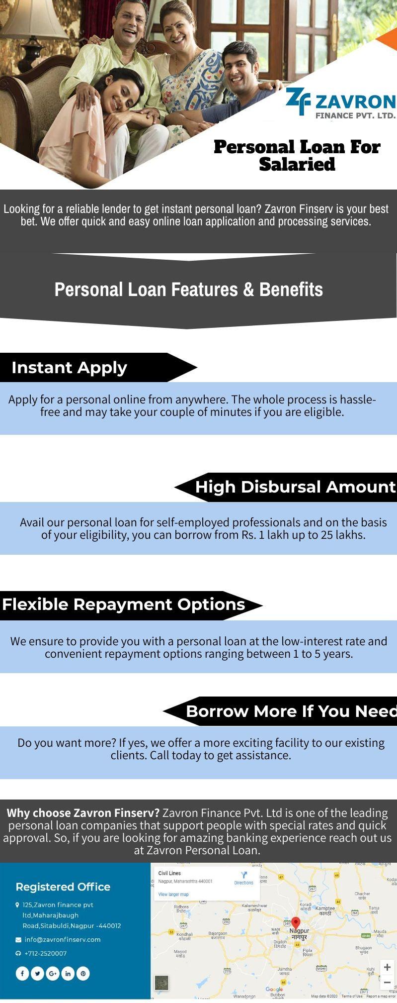 Personal Loan For Salaried In 2020 Personal Loans Instant Loans Personal Loans Online