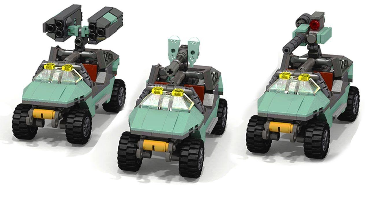 Lego HALO Warthog   Products I Love   Lego halo, Halo