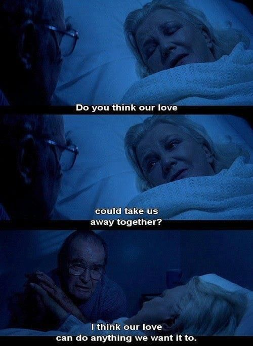 The notebook. Makes me cry everytime. Even just reading it and remembering makes my eyes water.. But I love it <3