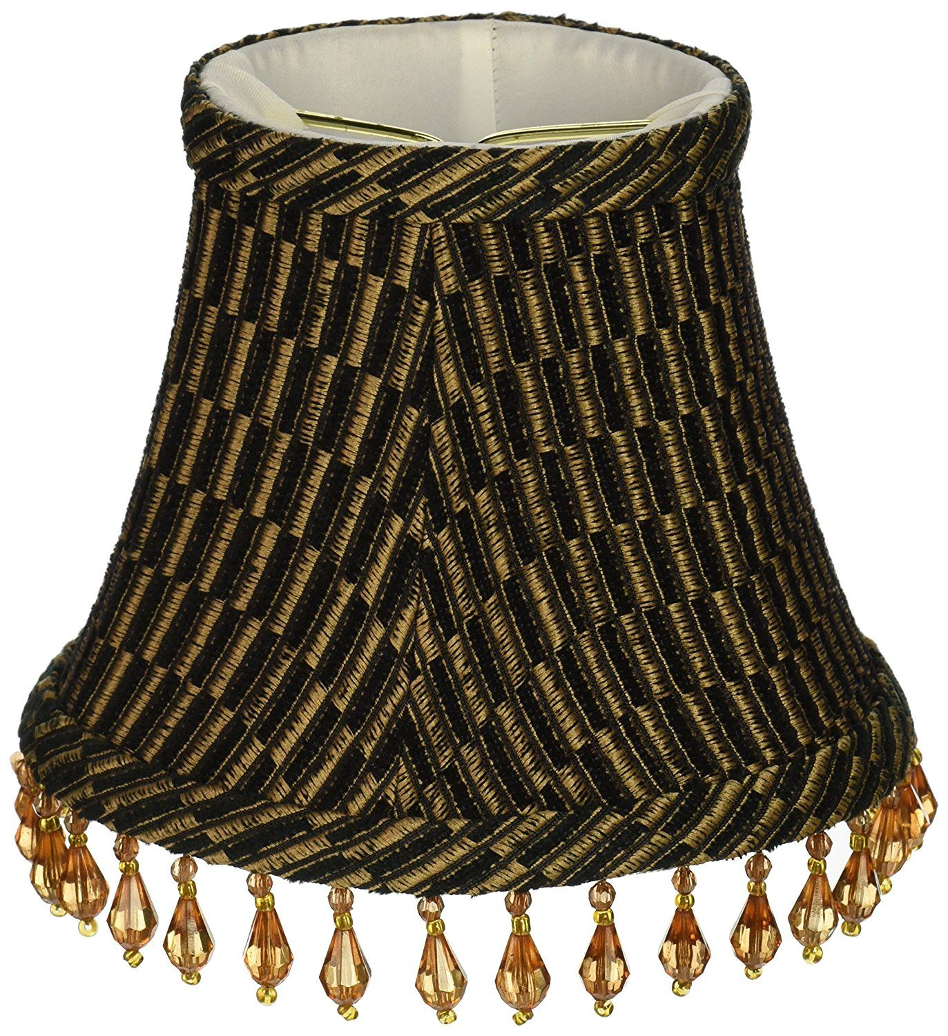 Lamp: Chandelier Lamp Shades Upgradelights Set Of 6 Barrel Shades ...