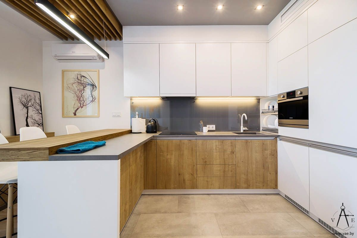 3 Small Apartments That Make The Best Of The Space They Have  #UniqueBacksplashPatterns