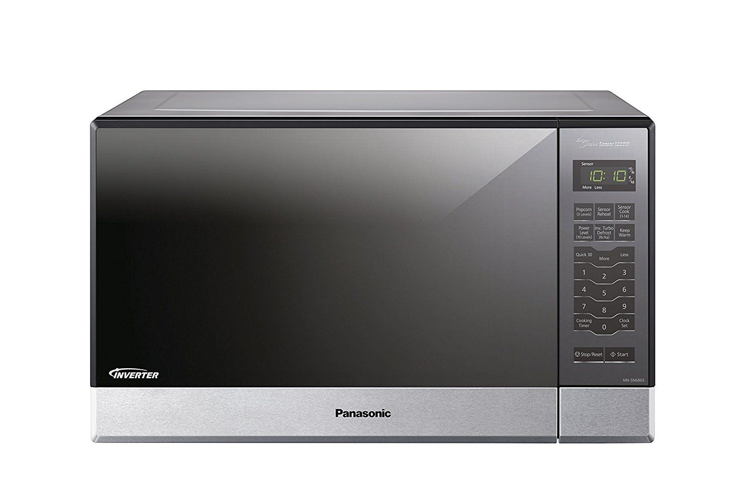 Panasonic NN-SN686S Countertop/Built-In Microwave with Inverter ...