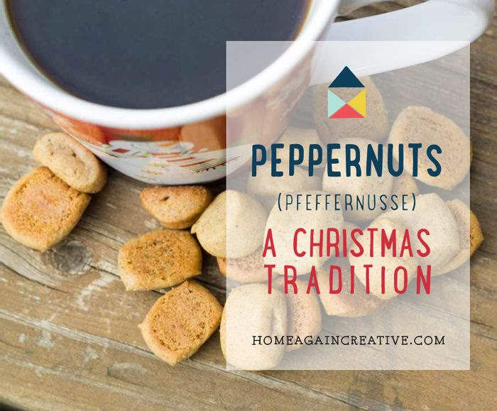 Recipe Peppernuts Recipe Traditional Christmas Cookies Cookie