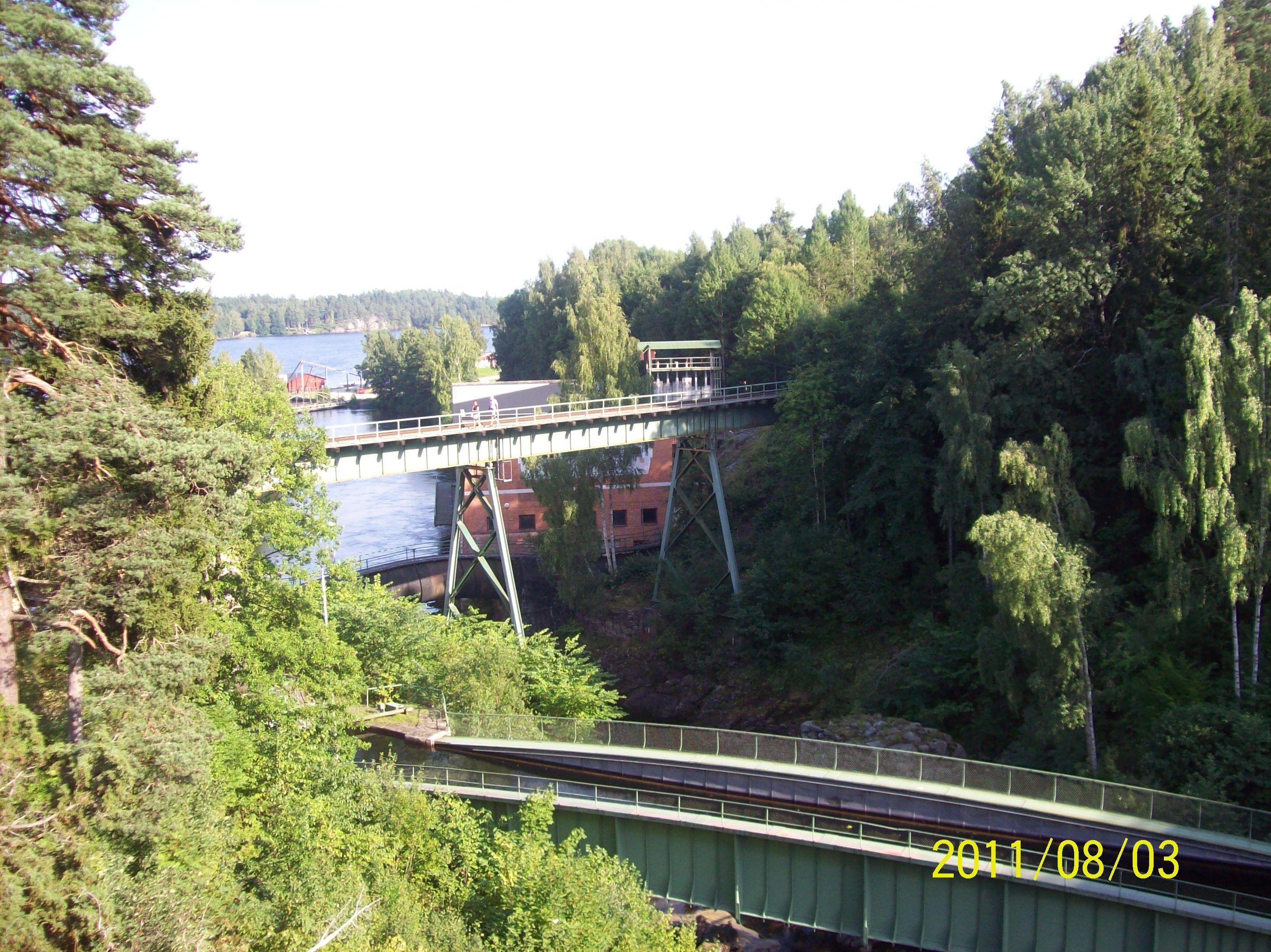 Håveruds akvedukter. Dalsland