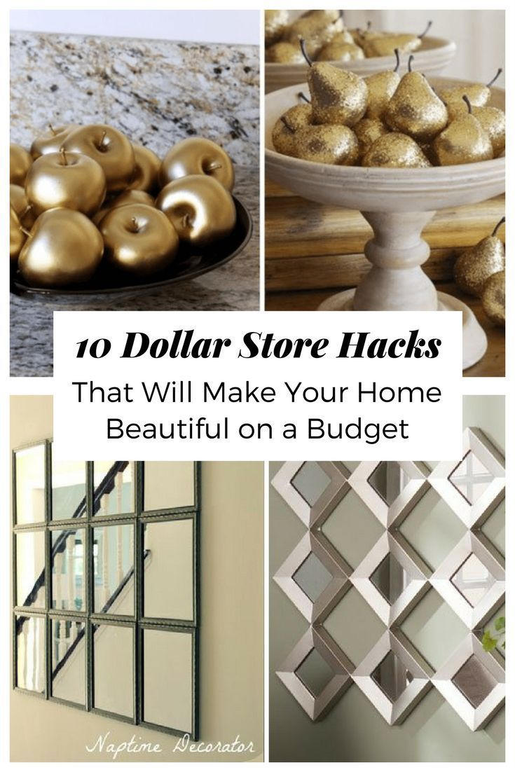 Home Decorating Ideas Diy 10 Dollar Store Hacks That Will Make Your ...