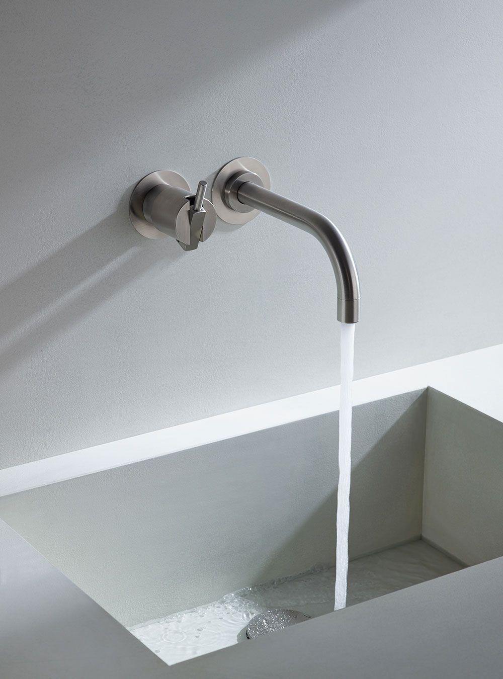Kranen en accessoires in tijdloos Scandinavisch design | badkamer ...