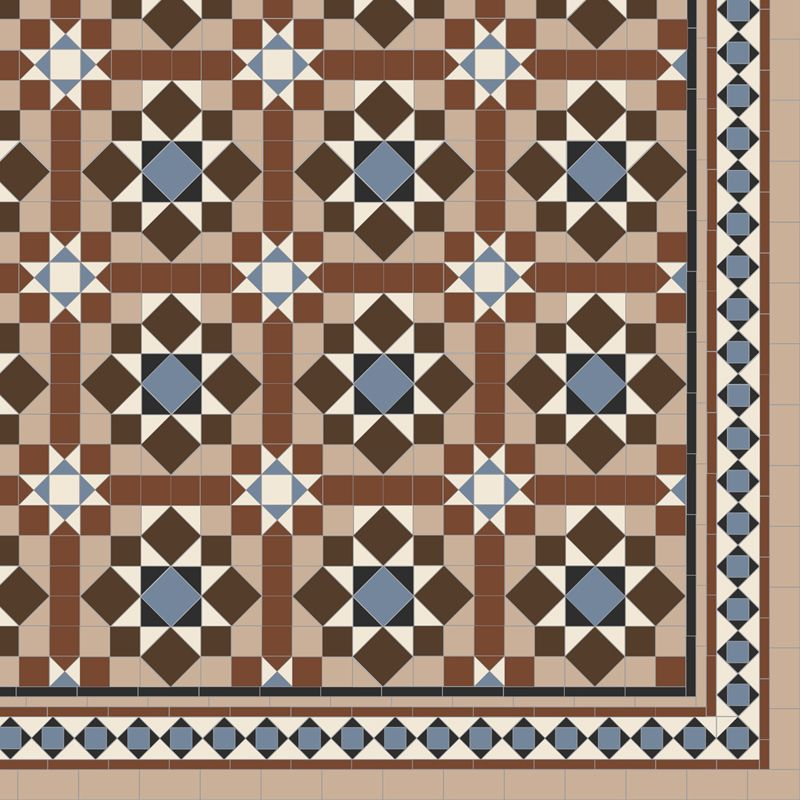 Chatsworth With Modified Browning Floor Tile
