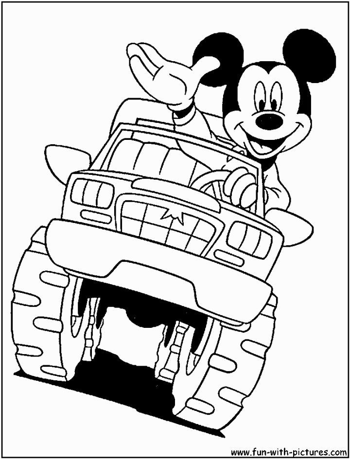 grave digger coloring page