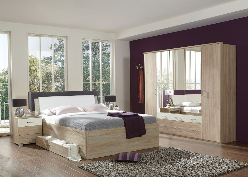 Schlafzimmer komplett Sunday sägerau weiß 7240 Buy now at https - schlafzimmer komplett weiß