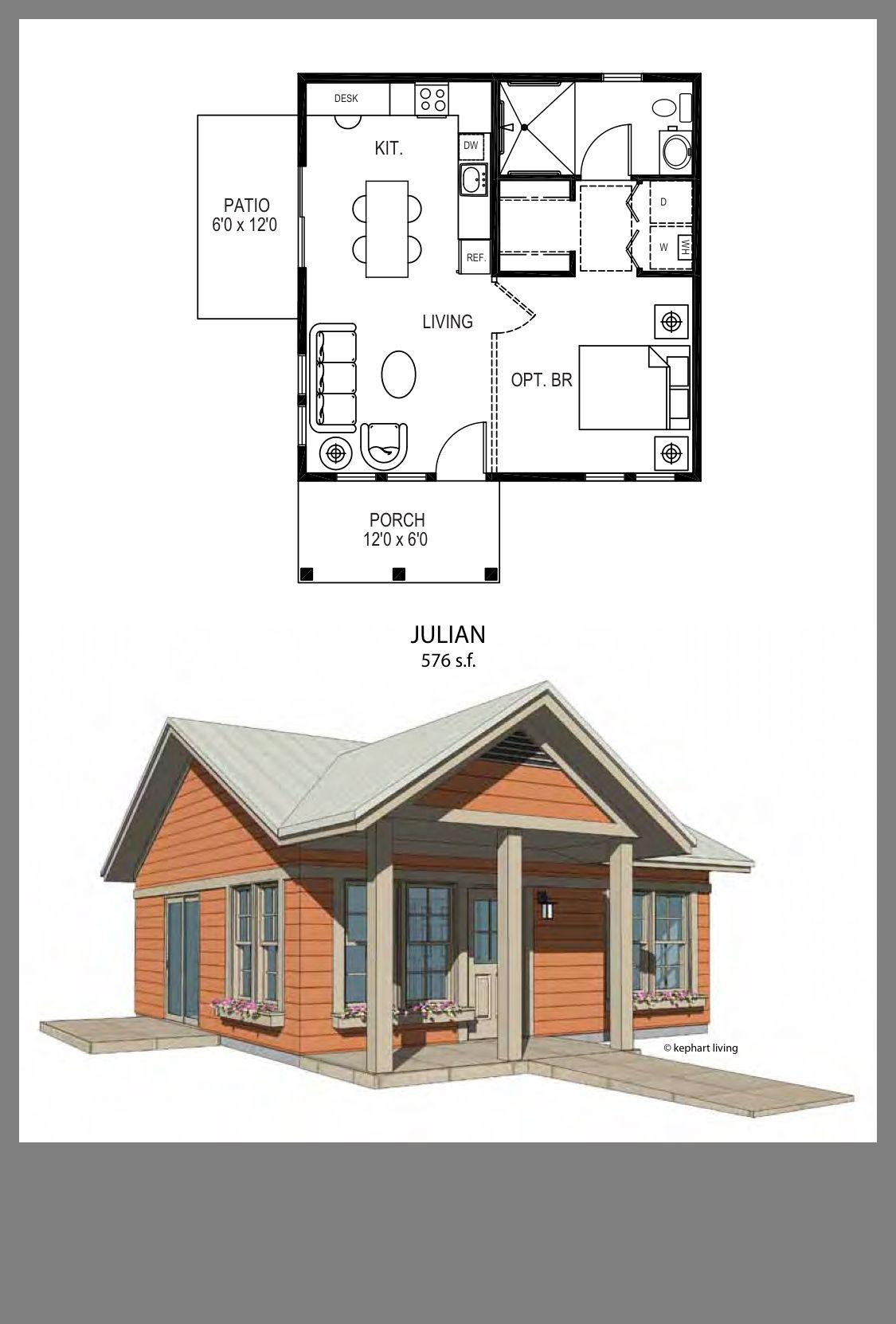 Julian 576 Sq Ft Tiny House Living In 2019 Pinterest