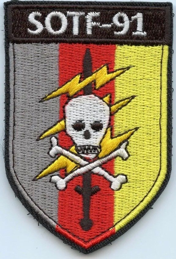 Special Forces Sotf 91 Robin Sage Patch Oda Pineland Usmy