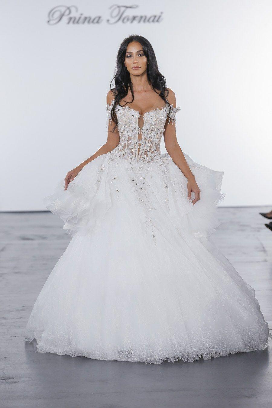 Wedding dress by pnina tornai for kleinfeld wattpad pinterest