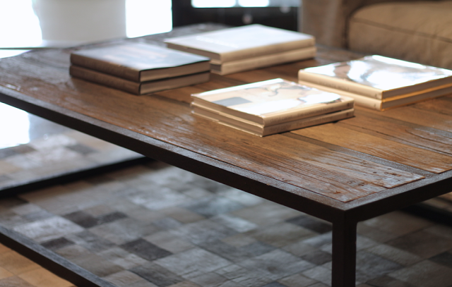 #canvasinteriors coffee table / reclaimed wood