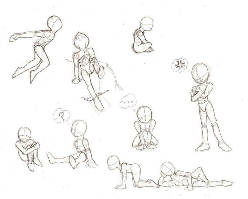 Child Proportions 2 Drawing Poses Figure Drawing Poses Children Sketch