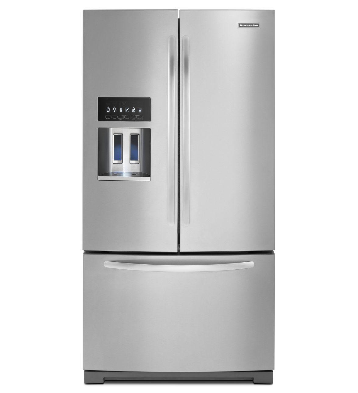 KitchenAid® 29 Cu. Ft. Standard-Depth French Door Refrigerator ...