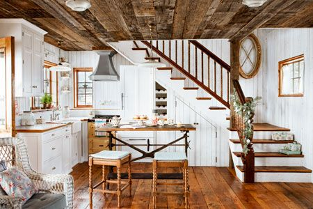 How To Design A Cozy Cottage Style Interior Cottage Kitchens