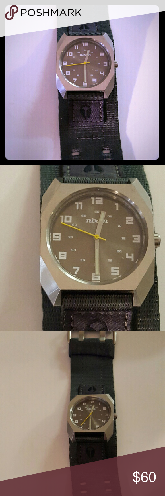 a4ad3abd2 Nixon scout watch Grey nixon scout watch great watch any questions please  feel free to ask Nixon Accessories Watches