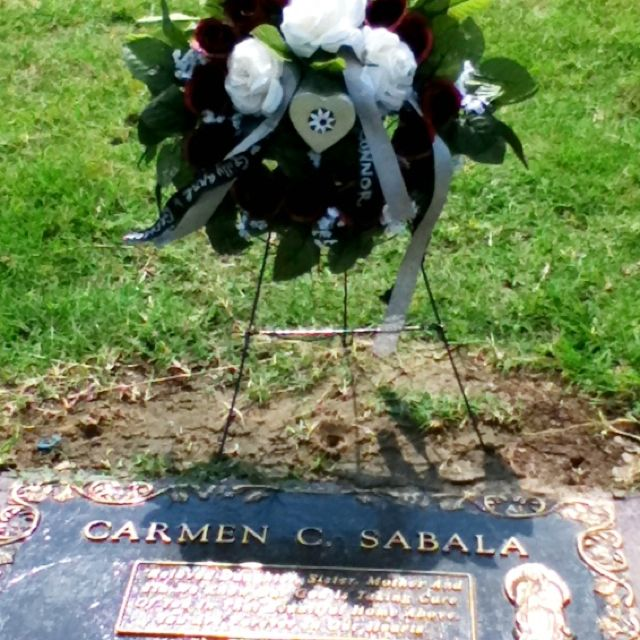 Mothers Day Grave Wreath Wish I Had You Here Instead Mom