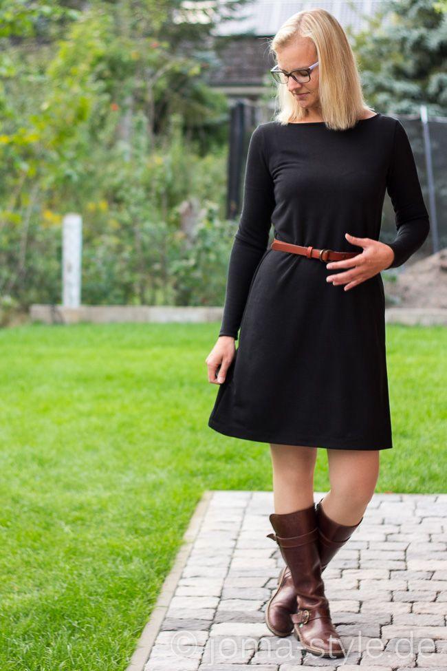 Kleid herbst nahen