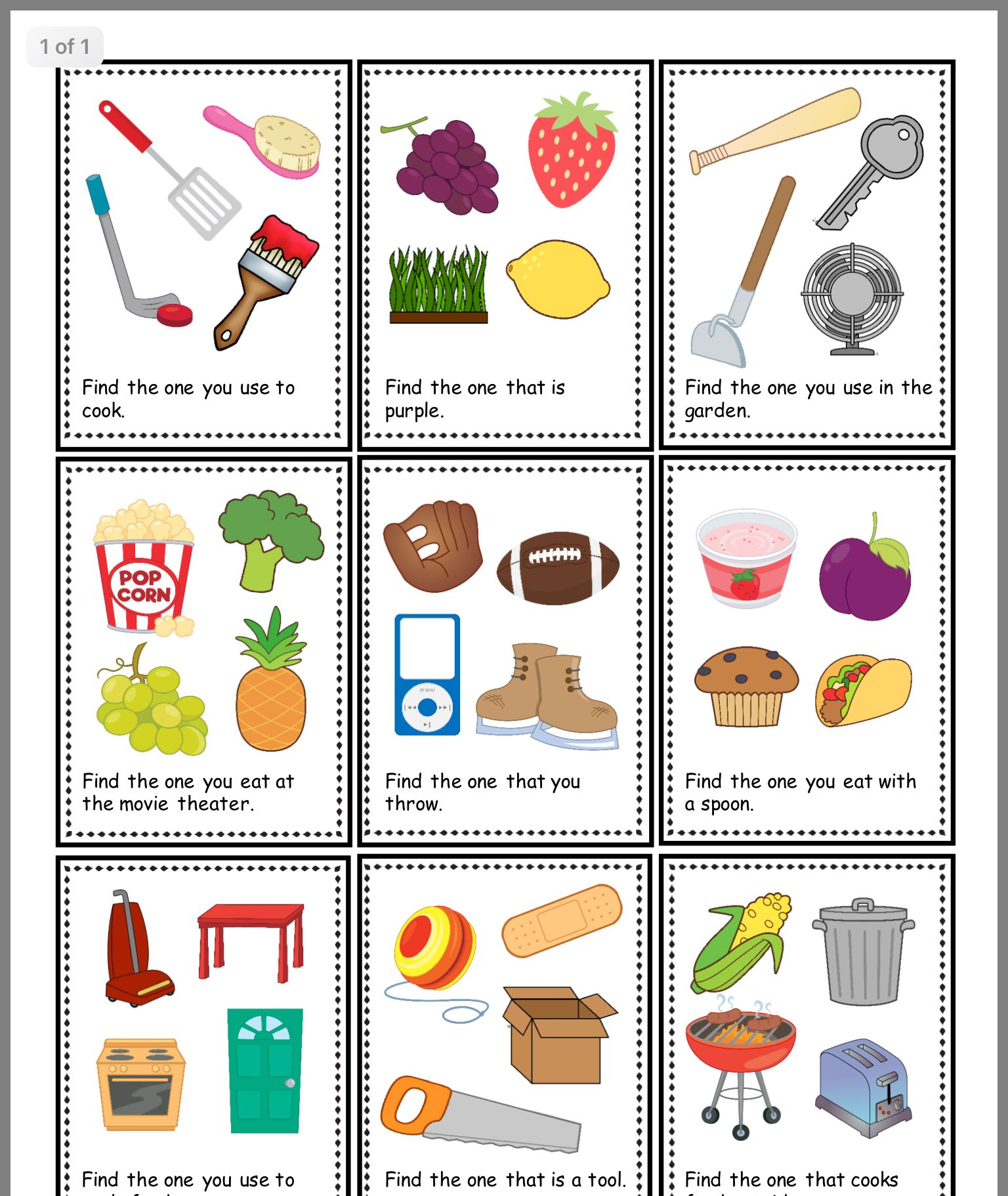 Pin By Sherry Raffurty On Letter Word Cards
