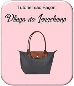 patron couture sac longchamp