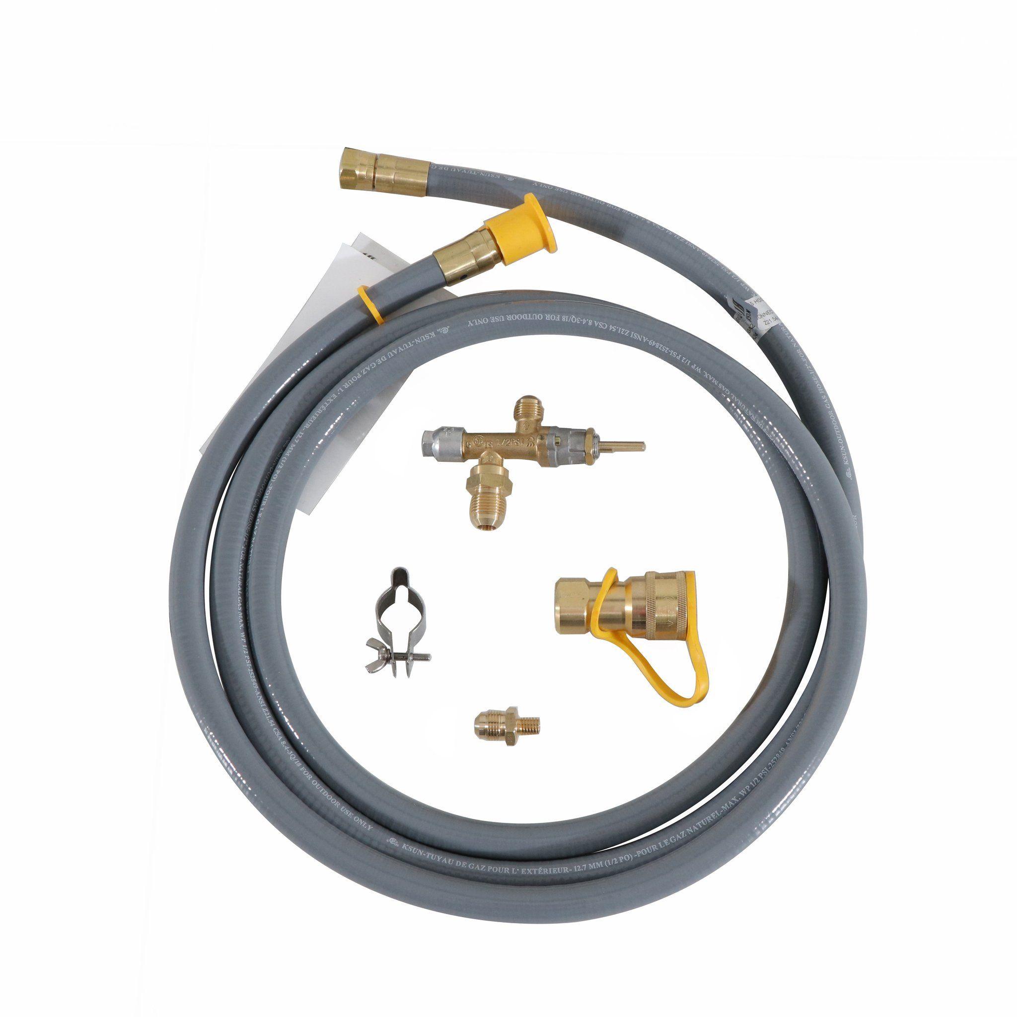 Natural Gas Conversion Kit 55 000 Btu Compatibility Fire Pit