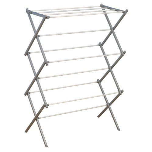 Clothes Drying Rack Target Household Essentials Folding Clothes Drying Rack Silver Metal Frame