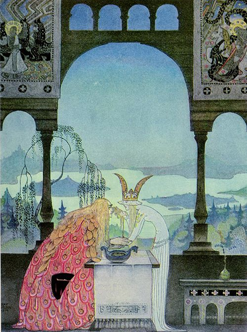 the twelve dancing princess kay neilsen illustrations | kay nielsen-east of the sun and west of the moon2