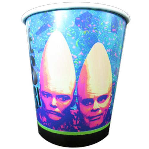 Cone Heads Vintage 1993 9oz Paper Cups (8ct)