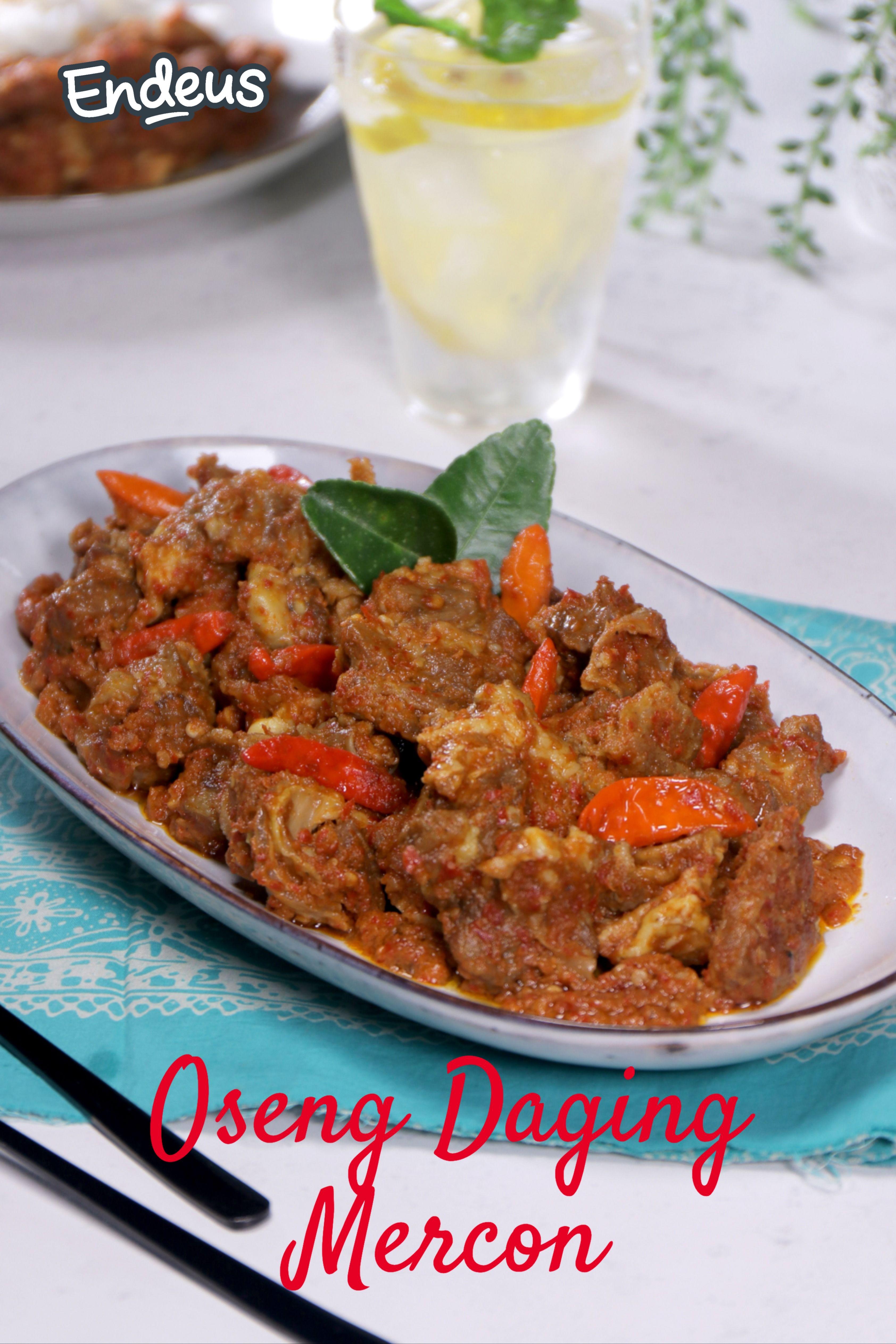 Resep Oseng Daging Mercon Resep Di 2020 Resep Daging Sapi Resep Daging Resep
