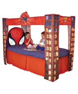 Spider Man Bed Head Spiderman Bedroom Girls Loft Bed