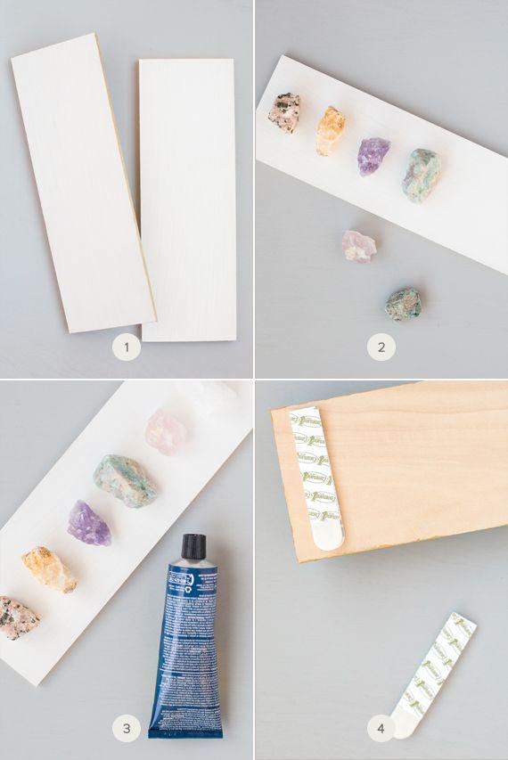 DIY Raw Crystal Necklace Display Raw crystal necklace Necklace