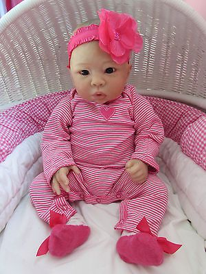 *ELEANOR ANNE * WAI LING * LAURA TUZIO ROSS REBORN BABY GIRL DOLL CHINESE
