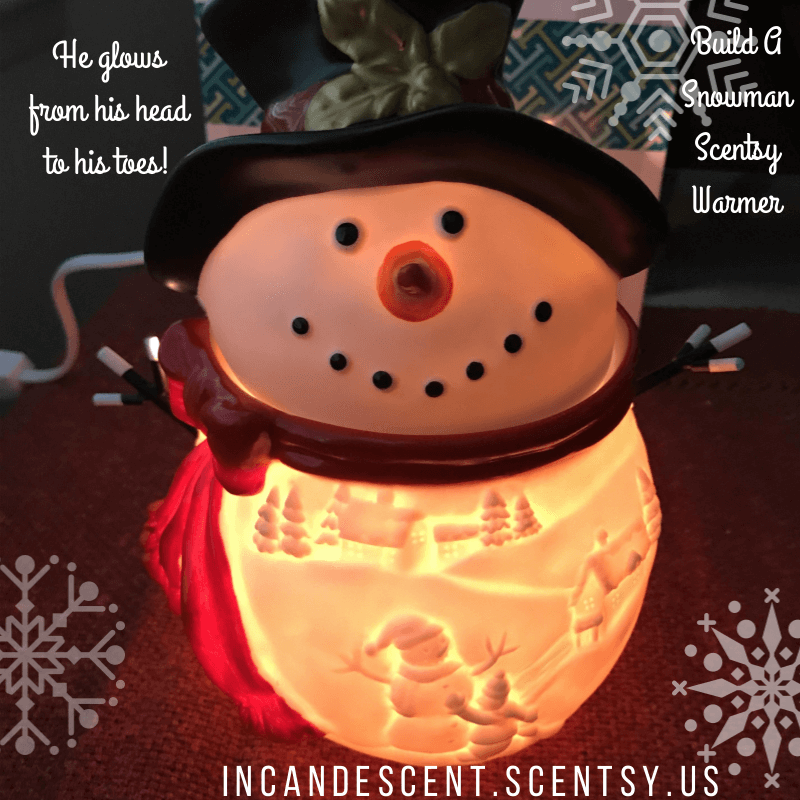 Build a snowman scentsy warmer | SCENTSY 2017 SPECIALS | Pinterest