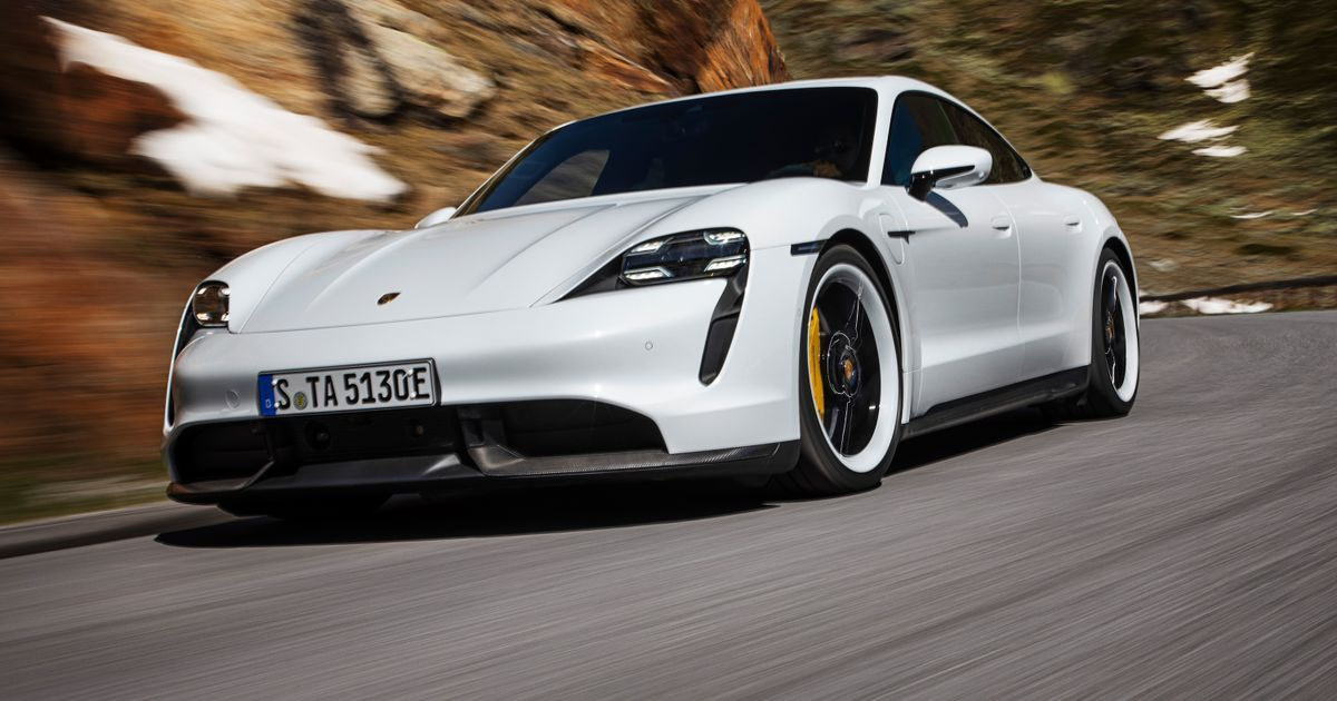 The Porsche Taycan Turbos Range Is Only 201 Miles According To The EPA