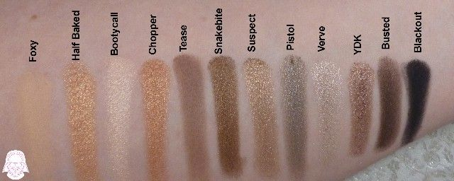 Naked2 Eyeshadow Palette by Urban Decay #4