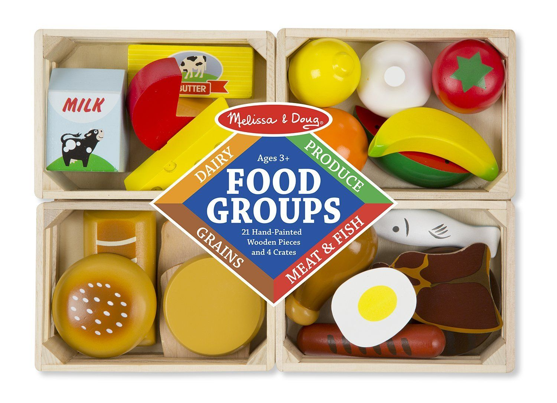 Melissa doug 10271 food groups toy amazoncouk