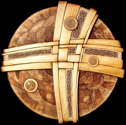 Sun Earth Everlasting -- Birch Bark Fine Art Wood Carving by Russian ...