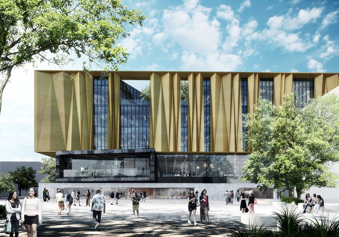 Christchurch Central News: SHL – Christchurch Central Library
