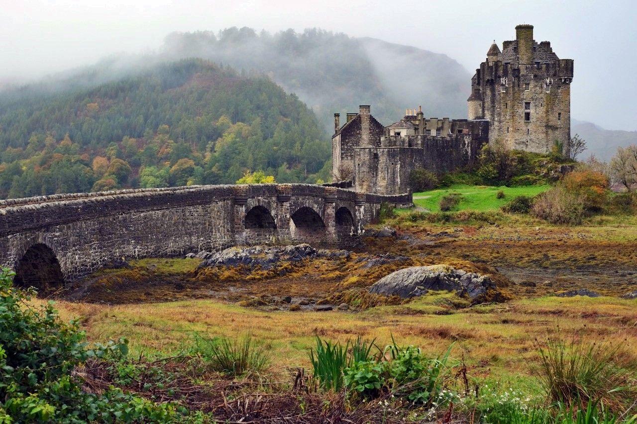 Картинки по запросу шотландия замки   Замок шотландии ...