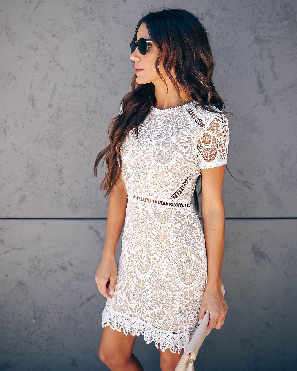 Live Out Loud Crochet Lace Dress White Lace White Dress Crochet Lace Dress Lace Dress [ 1280 x 1024 Pixel ]