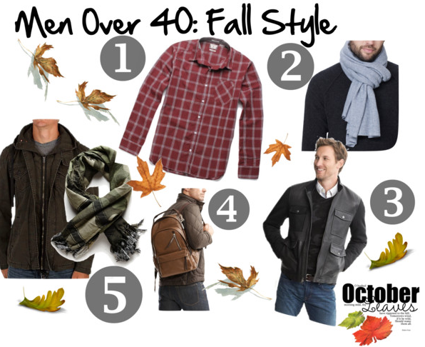Men over 40 fashion 5 easy must have fall looks for guys over 40