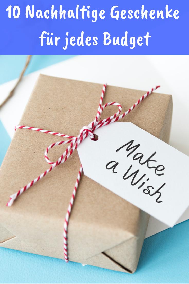 Weihnachtsgeschenke Für Mann Und Frau.Nachhaltige Geschenke Für Jedes Budget öko Geschenke L