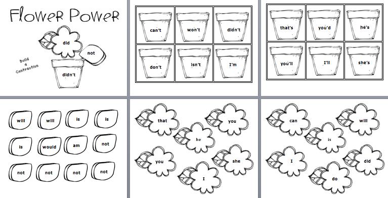 Flower Pot Contractions Class Management Teaching