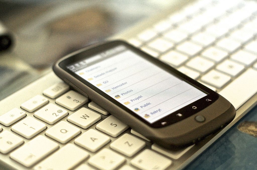 The best five mobile phone apps for tracking your finances. Photo by Johan Larsson.